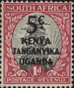 Почтовая марка Кения Уганда Танганьика 1926