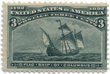 Марка США 1893 Колумбовская серия