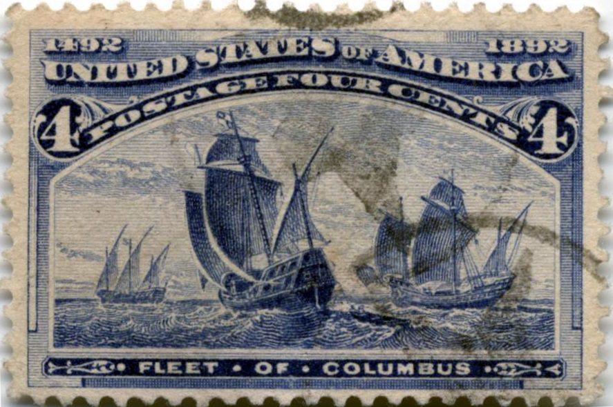 Колумбовская серия, США 1893