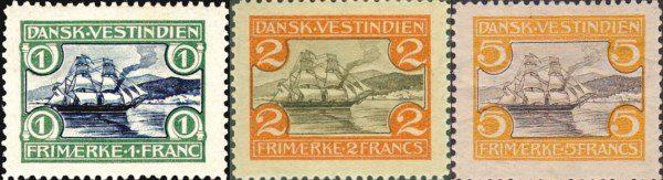 Датская Вест-Индия - Почтовые марки, 1905