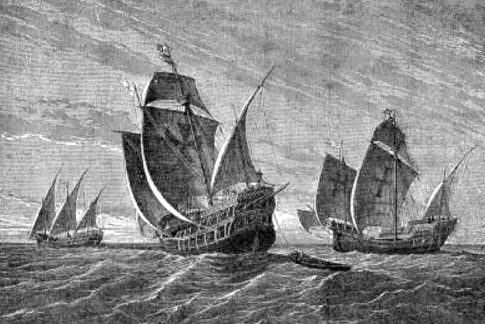 Густав Адольф Клосс, Корабли Колумба, 1892