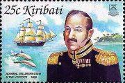 Шлюп Восток - марка Кирибати 2002