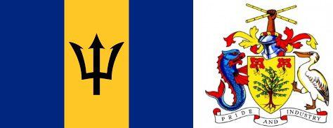 Барбадос - флаг и герб