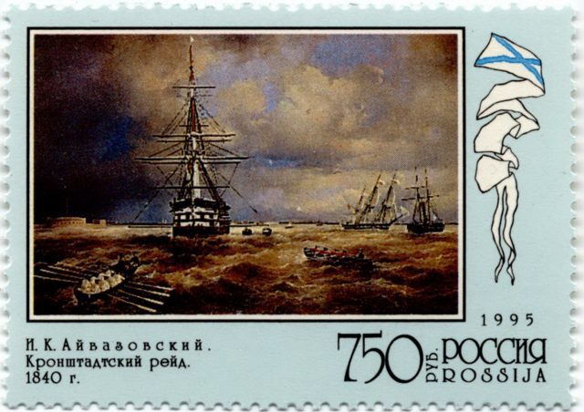 И.К. Айвазовский Кронштадский рейд