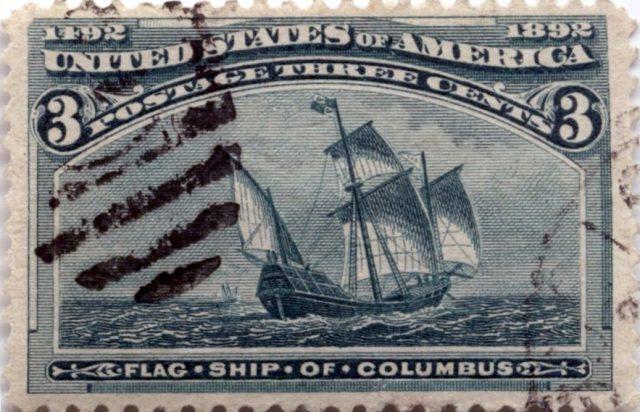 Колумбовская серия марка США