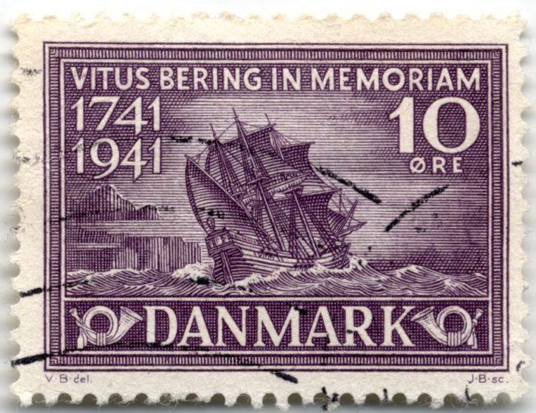 Памяти Витуса Беринга – Дания 1941