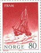 Корабль Фрам - марка Норвегии 1972