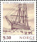 Марка Фрам Норвегия 2004