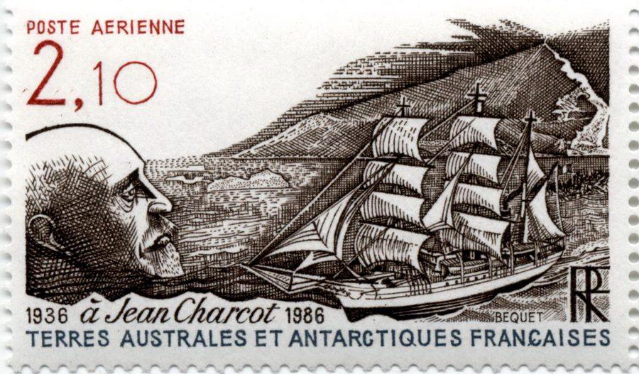 Памяти Жана-Батиста Шарко (Jean Charcot) (Французские территории в Антарктике, 1986)