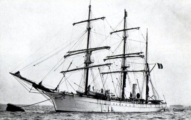 Корабль Pourquoi Pas