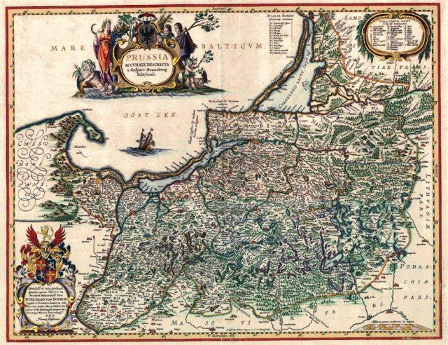Пруссия в середине XVII века