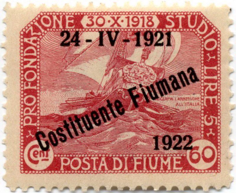 Марки Фиуме, 1921