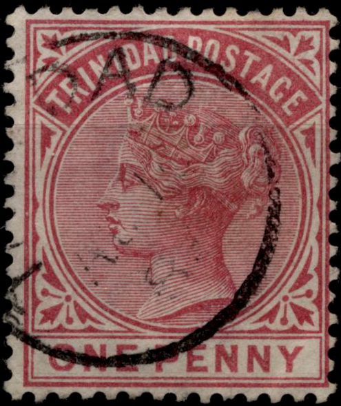 Марка Тринидада 1883
