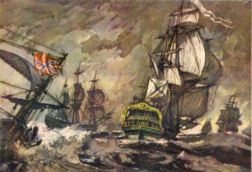 Переход кораблей с Балтики в Средиземное море