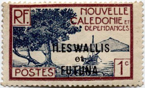 Новая Каледония марка 1926