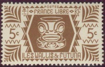 Марка Уоллис и Футуна 1944