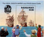 Багамские острова марка Колумб