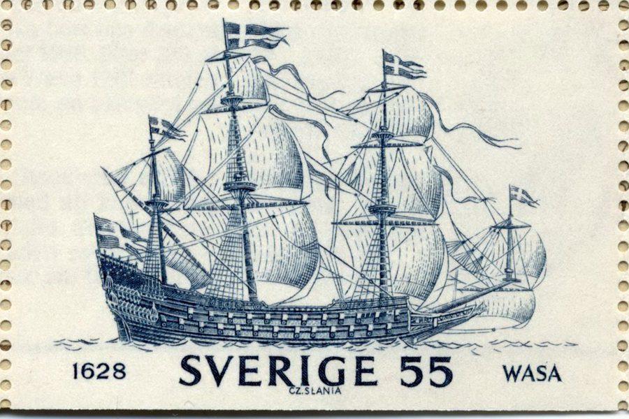 Шведский корабль «Wasa» («Васа»)