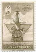 Испания Колумб марка 1930