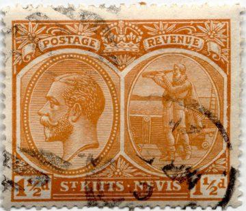 Марка Сент-Киттс и Невис, 1920