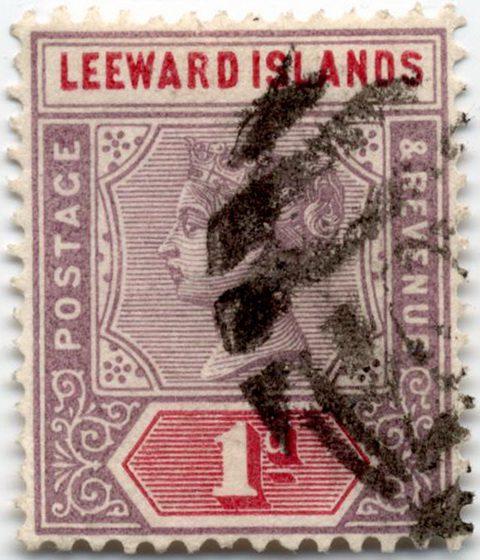 Марка Подветренные острова