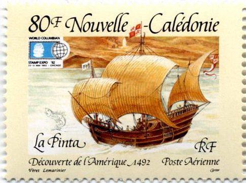 Новая Каледония марка Пинта