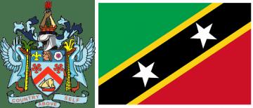 Сент-Китс и Невис флаг и герб