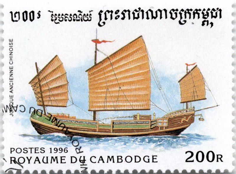 История парусного флота – китайская джонка