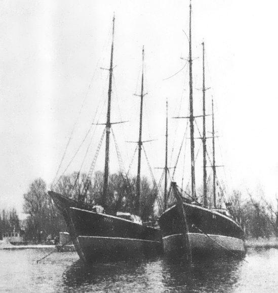 Бермудские шхуны «Восток» и «Юг»