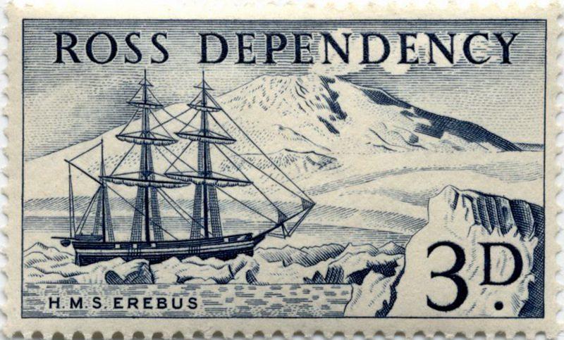 HMS Erebus и исследования Антарктиды