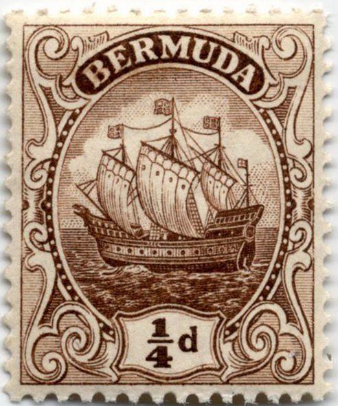 Каравелла – стандартный выпуск Бермудских островов