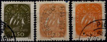 Марки с парусником Португалия 1949
