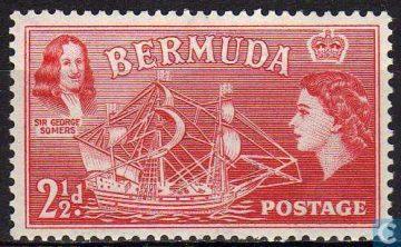 марка Бермудские острова