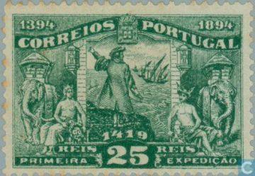 Марка Генри-Мореплаватель. Португалия 1894