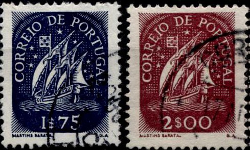 Каравелла – стандартный выпуск Португалии