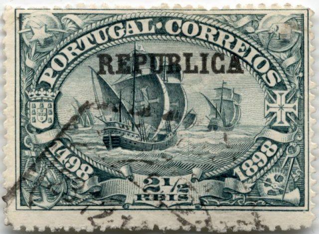 Марка Португалии 1911