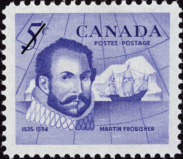 Мартин Фробишер, марка Канады, 1963