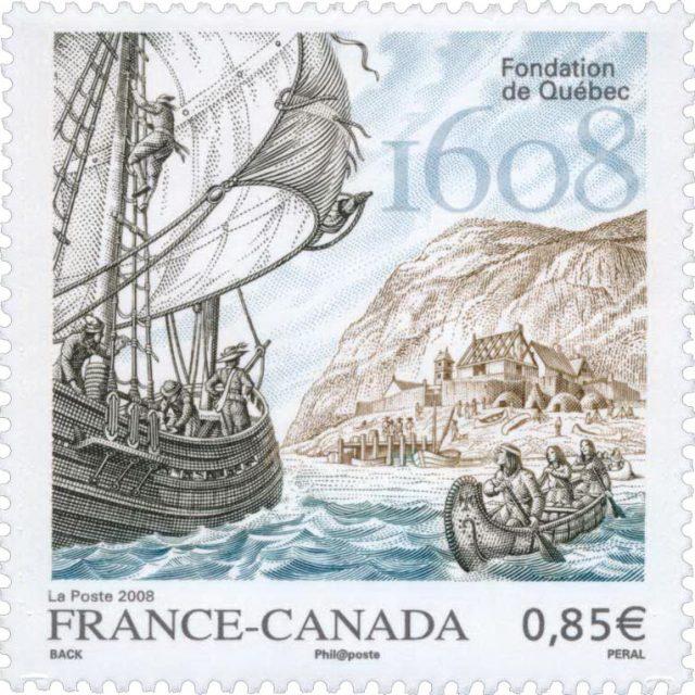 марка 400 лет Квебеку