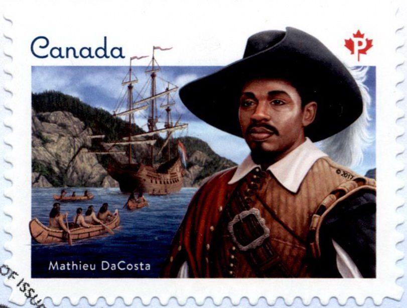 Мэтью Да Кошта – первый афроканадец
