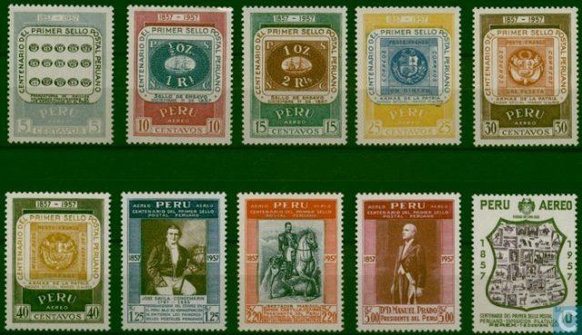 марки Перу