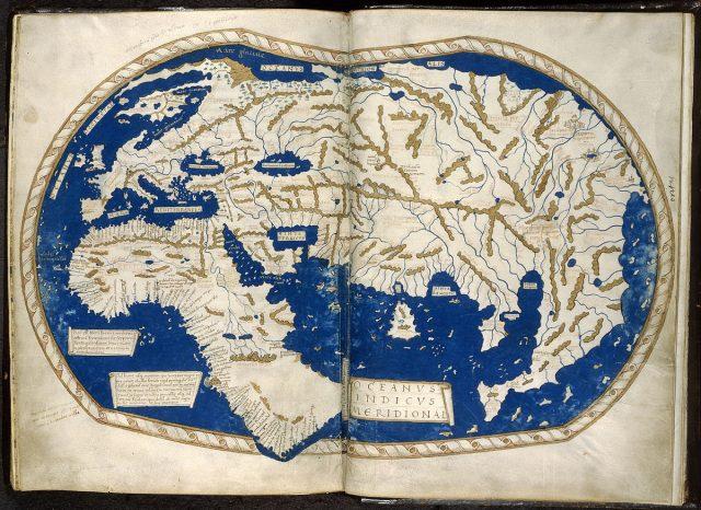 Карта Мартелла, 1489