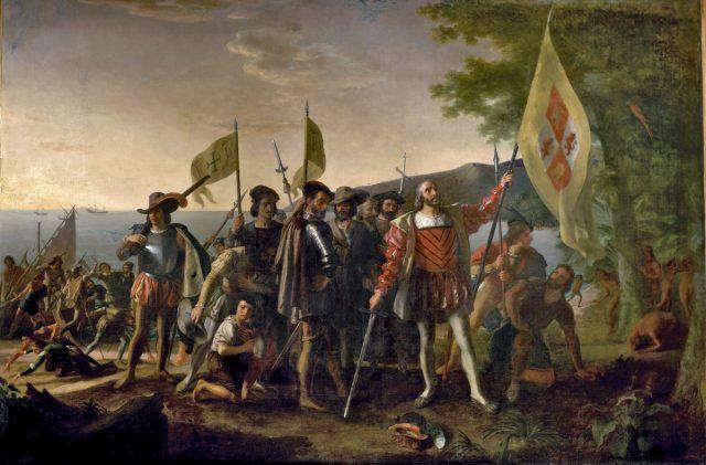 Высадка Колумба