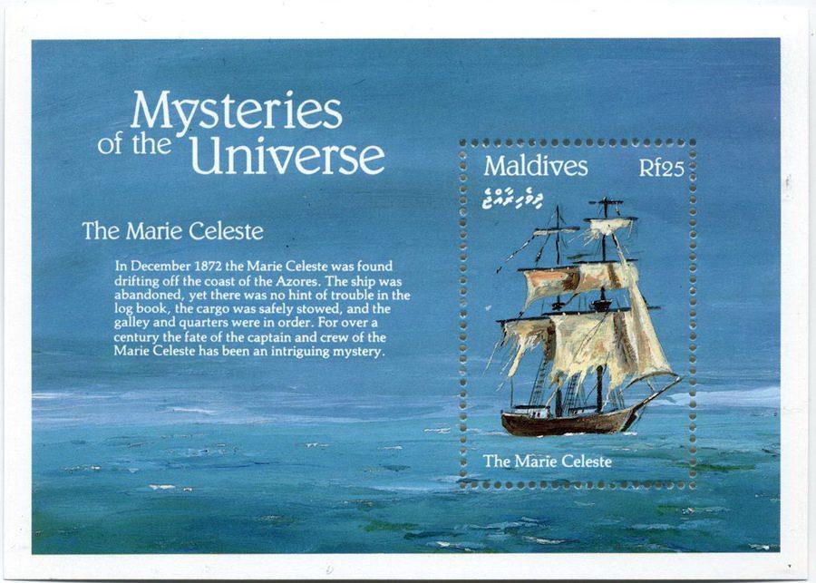Корабль-призрак Marie Celeste
