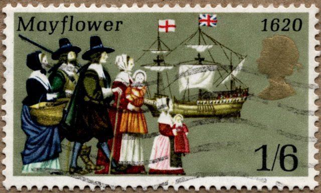 Mayflower марка Англии