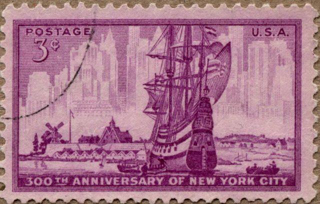 Нью-Йорк марка