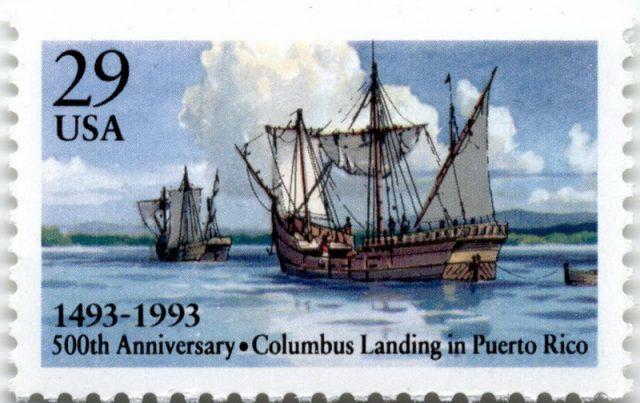 Марка открытие Пуэрто-Рико