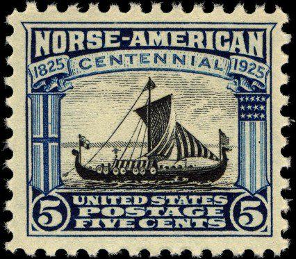 Драккар викингов. США, 1925