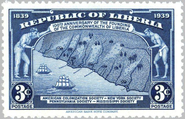 марка Либерии 1940