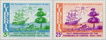 марка Либерии 1972