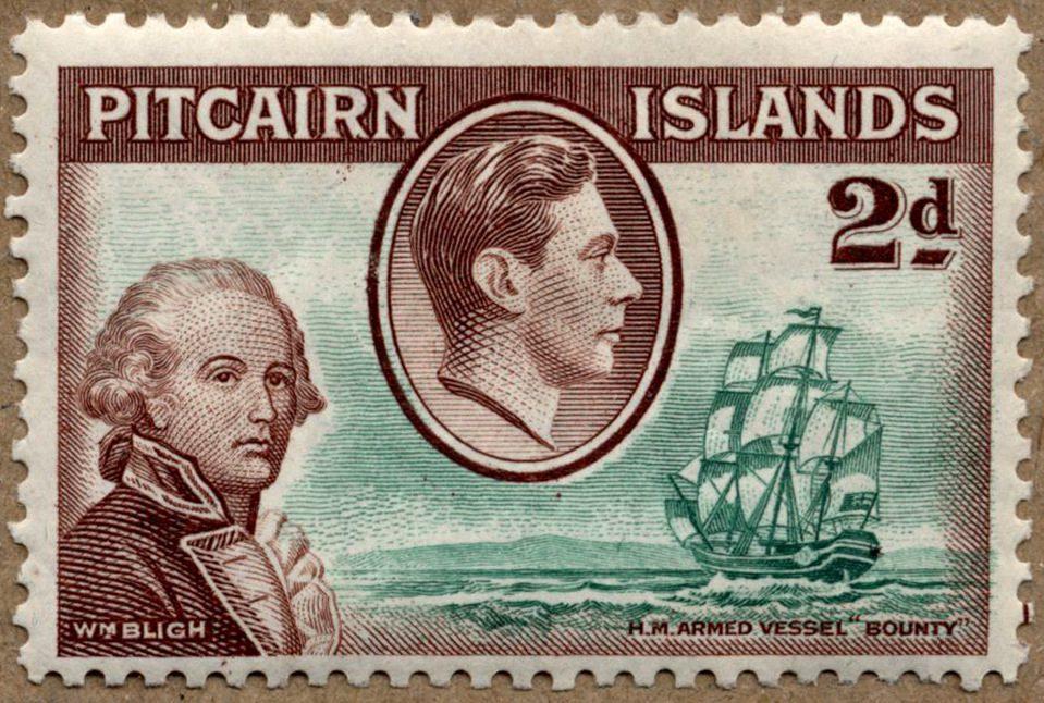 Капитан Уильям Блай и мятеж на «Баунти»